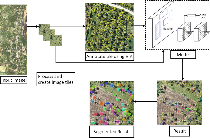 Figure 1 for Coconut trees detection and segmentation in aerial imagery using mask region-based convolution neural network