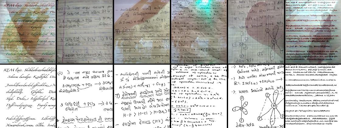 Figure 4 for HDIB1M -- Handwritten Document Image Binarization 1 Million Dataset