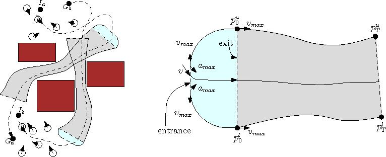 Figure 1 for Efficient Multi-Agent Global Navigation Using Interpolating Bridges