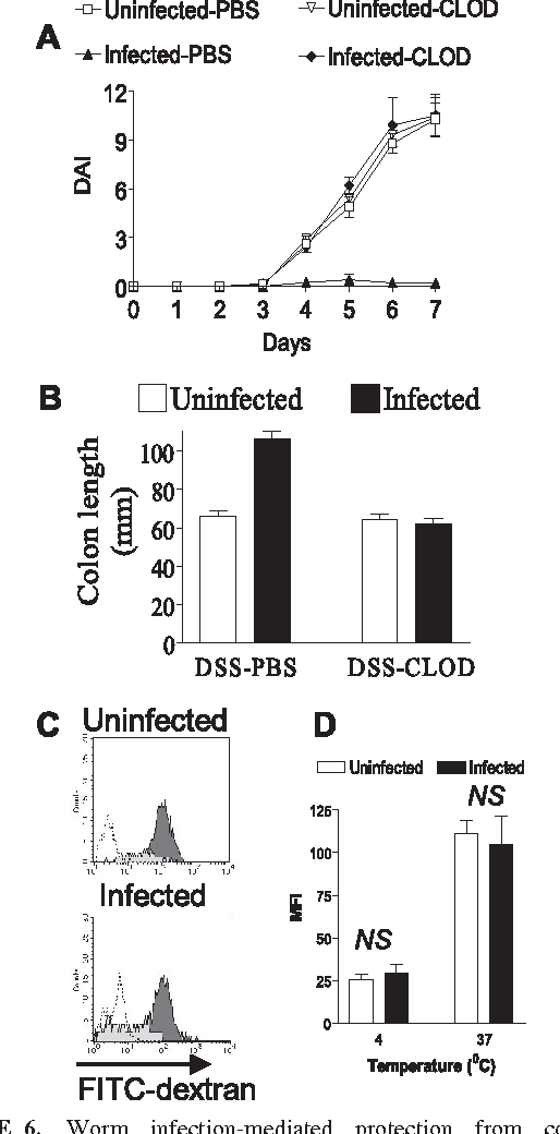 Figure 6 from Infection with a helminth parasite prevents