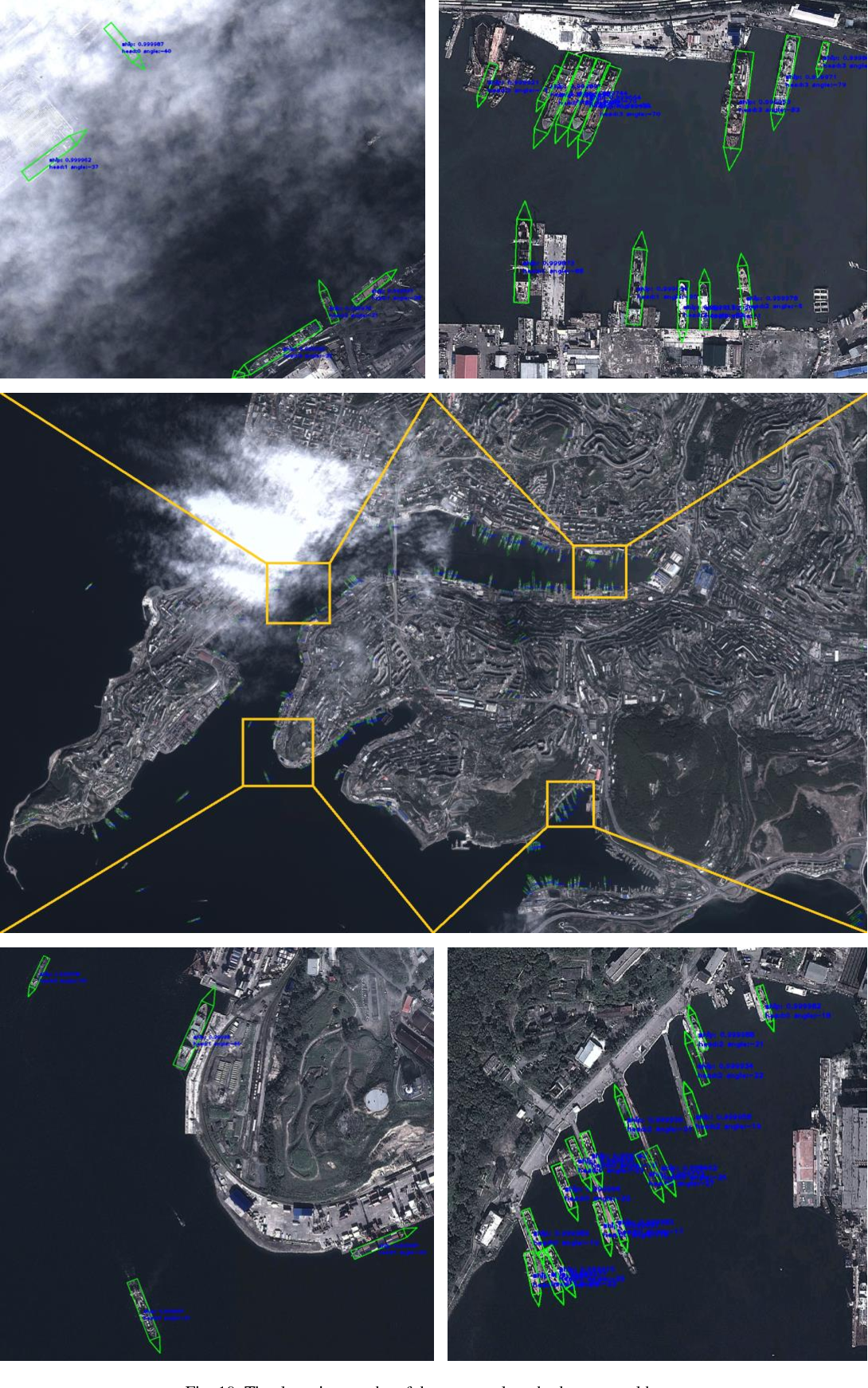 Figure 3 for Position Detection and Direction Prediction for Arbitrary-Oriented Ships via Multiscale Rotation Region Convolutional Neural Network