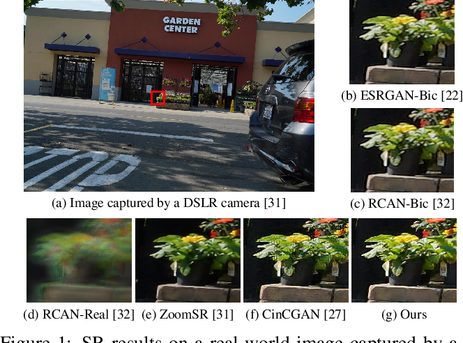 Figure 1 for Learning to Zoom-in via Learning to Zoom-out: Real-world Super-resolution by Generating and Adapting Degradation