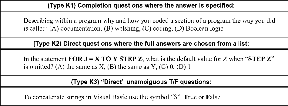 Figure 2 from Multiple‐Choice Tests and Student