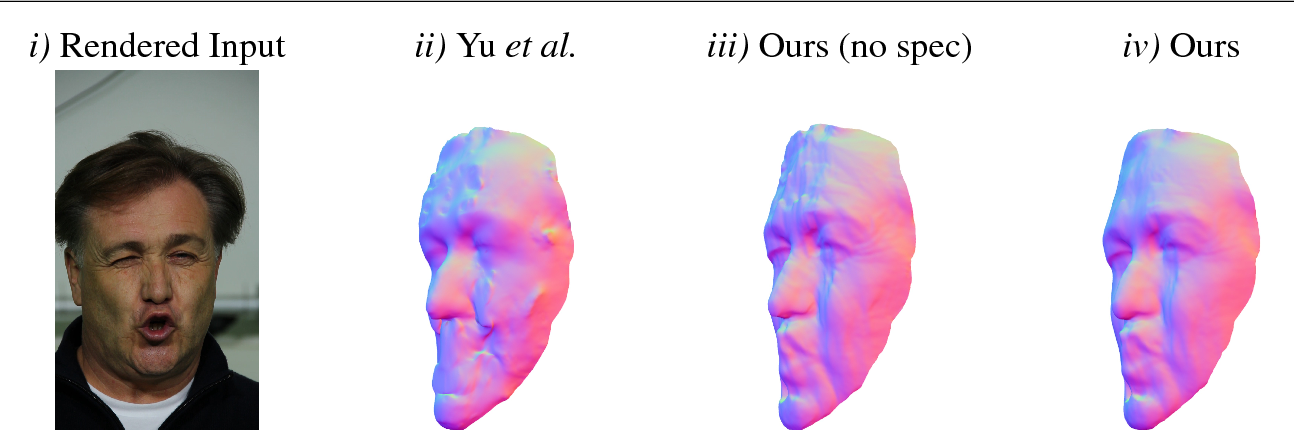 Figure 3 for Better Together: Joint Reasoning for Non-rigid 3D Reconstruction with Specularities and Shading