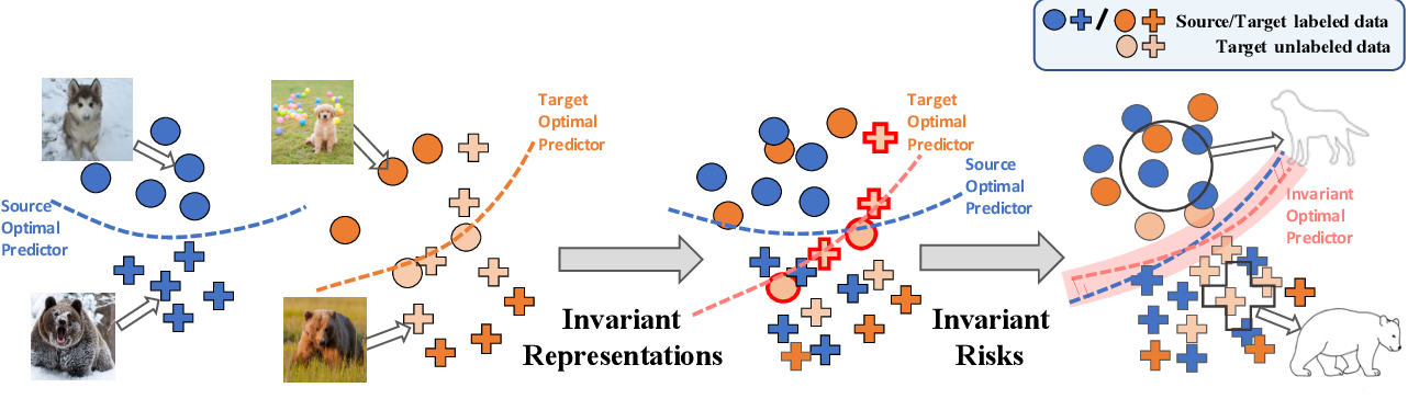 Figure 1 for Learning Invariant Representations and Risks for Semi-supervised Domain Adaptation