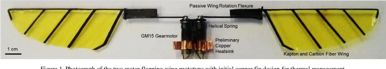 Figure 1 for Characterization and Thermal Management of a DC Motor-Driven Resonant Actuator for Miniature Mobile Robots with Oscillating Limbs