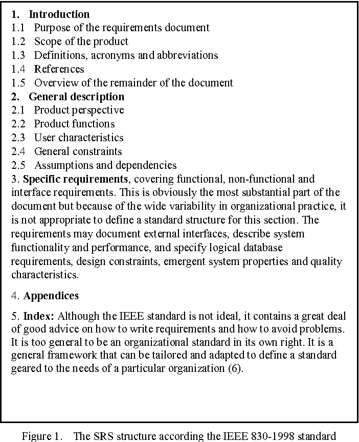 Towards A Dynamic Software Requirements Specification Semantic Scholar - Requirement specification