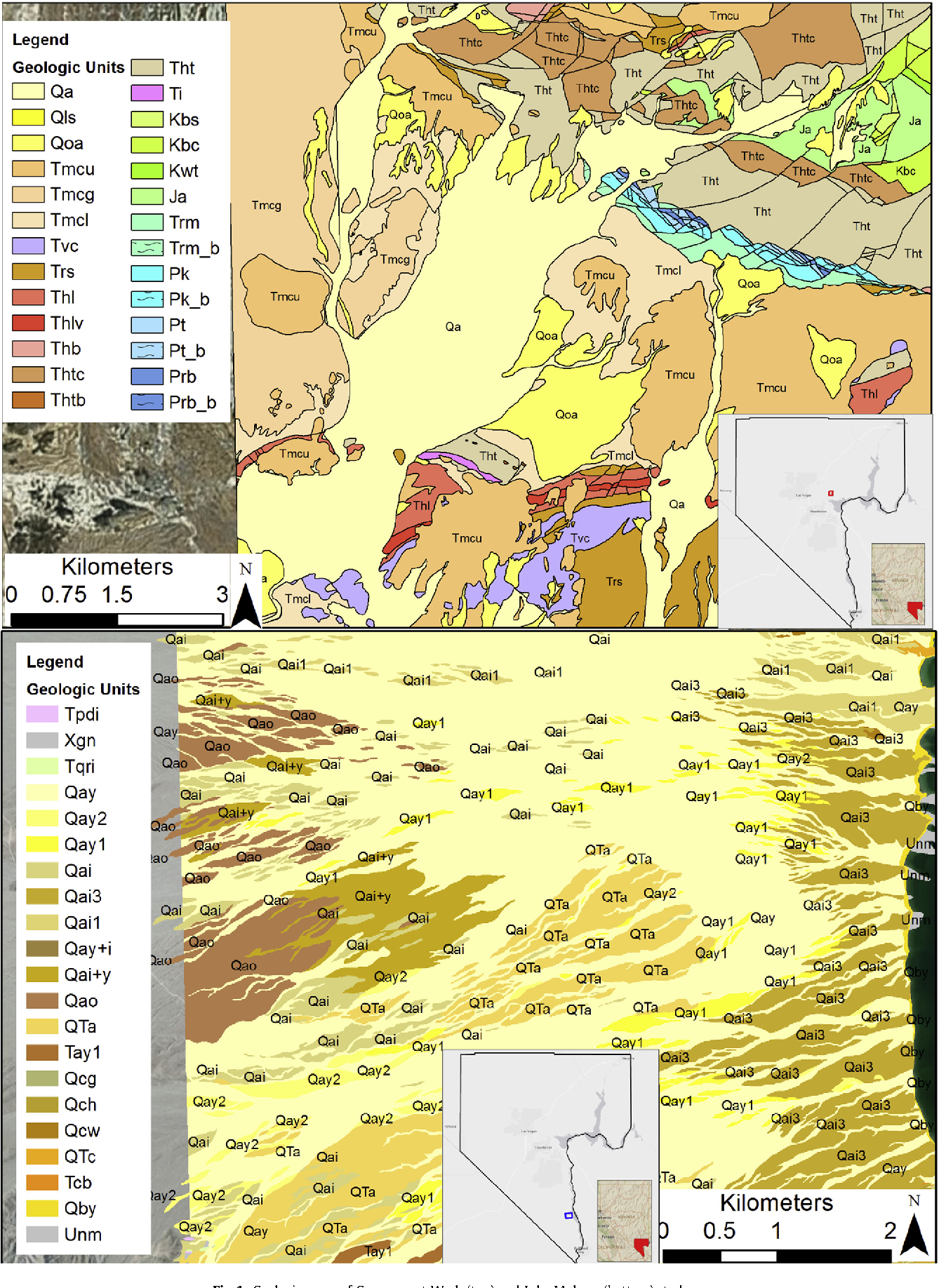 Modeling background radiation in southern nevada semantic scholar figure 1 gumiabroncs Choice Image