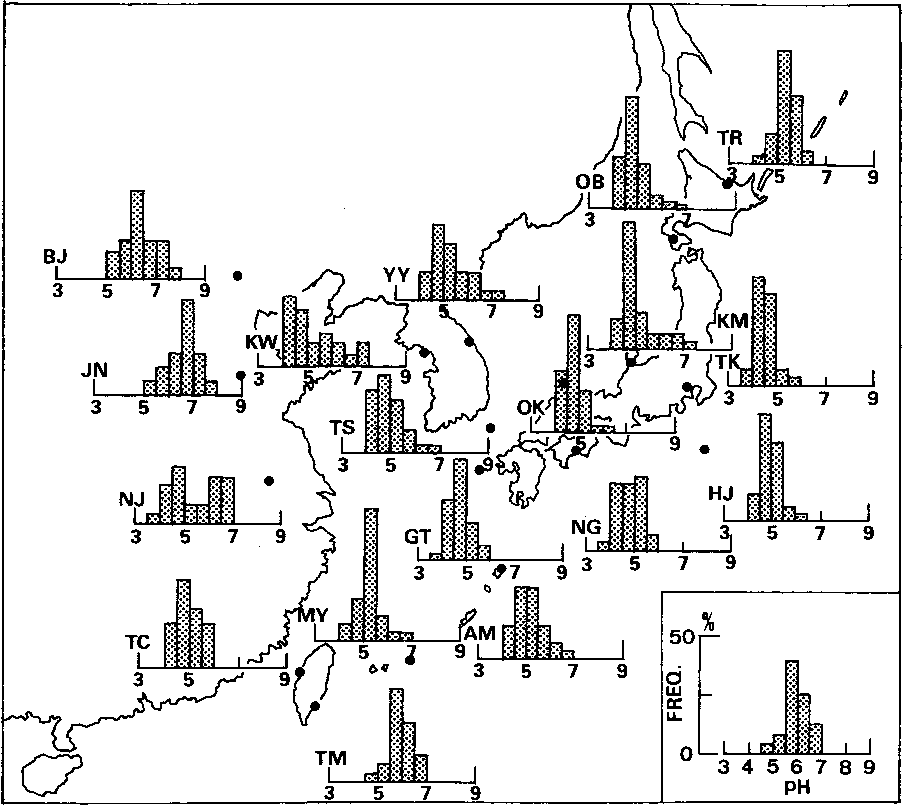 Figure 2 From Precipitation Chemistry In East Asia