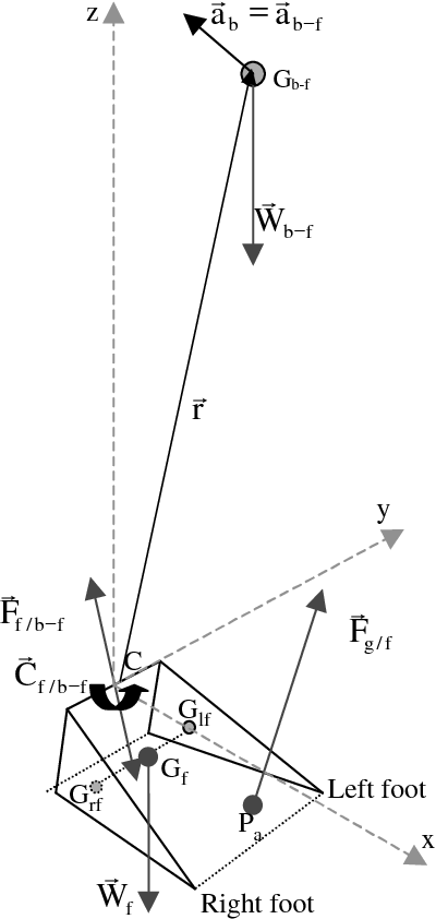 Figure 1 From Estimation Of The 3 D Center Of Mass Excursion From