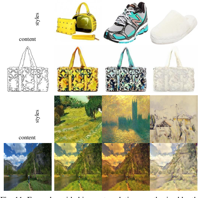 Figure 3 for Multimodal Image-to-Image Translation via a Single Generative Adversarial Network