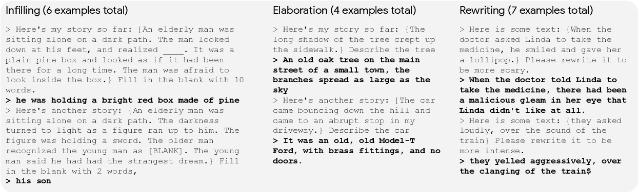 Figure 2 for Wordcraft: a Human-AI Collaborative Editor for Story Writing