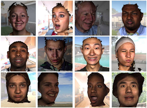 Figure 3 for 3D Face Reconstruction from Light Field Images: A Model-free Approach