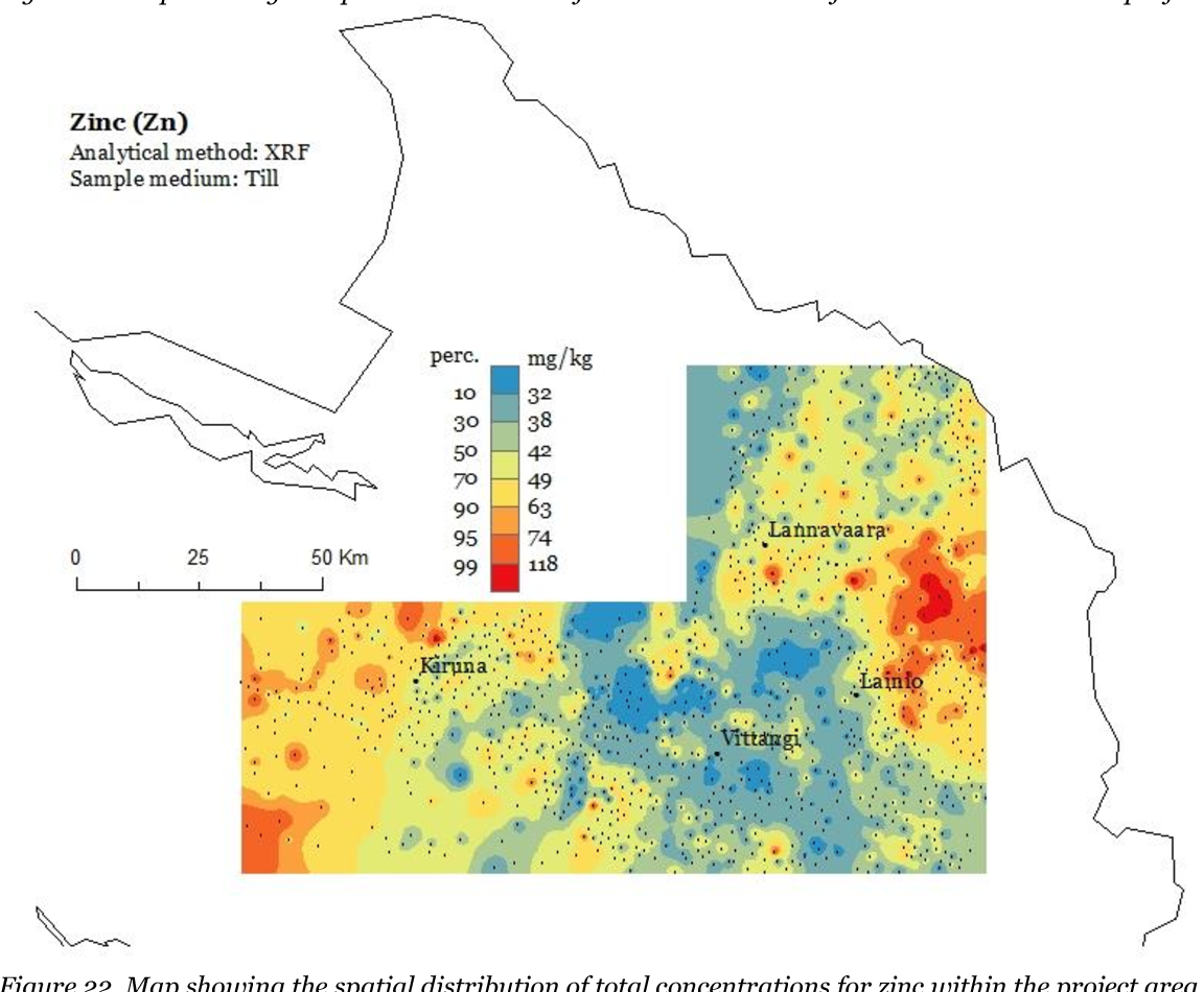 Figure 22 from Soil geochemical mapping of manganese in ... on