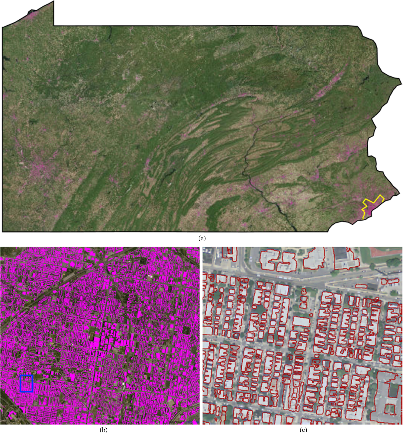 Figure 4 for Building Extraction at Scale using Convolutional Neural Network: Mapping of the United States