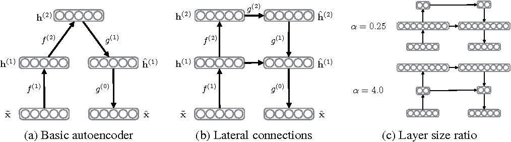 Figure 1 for Denoising autoencoder with modulated lateral connections learns invariant representations of natural images
