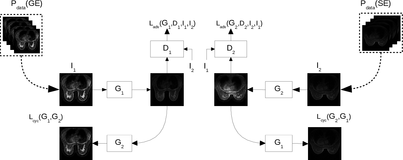 Figure 2 for Normalization of breast MRIs using Cycle-Consistent Generative Adversarial Networks