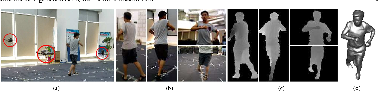 Figure 4 for FlyCap: Markerless Motion Capture Using Multiple Autonomous Flying Cameras