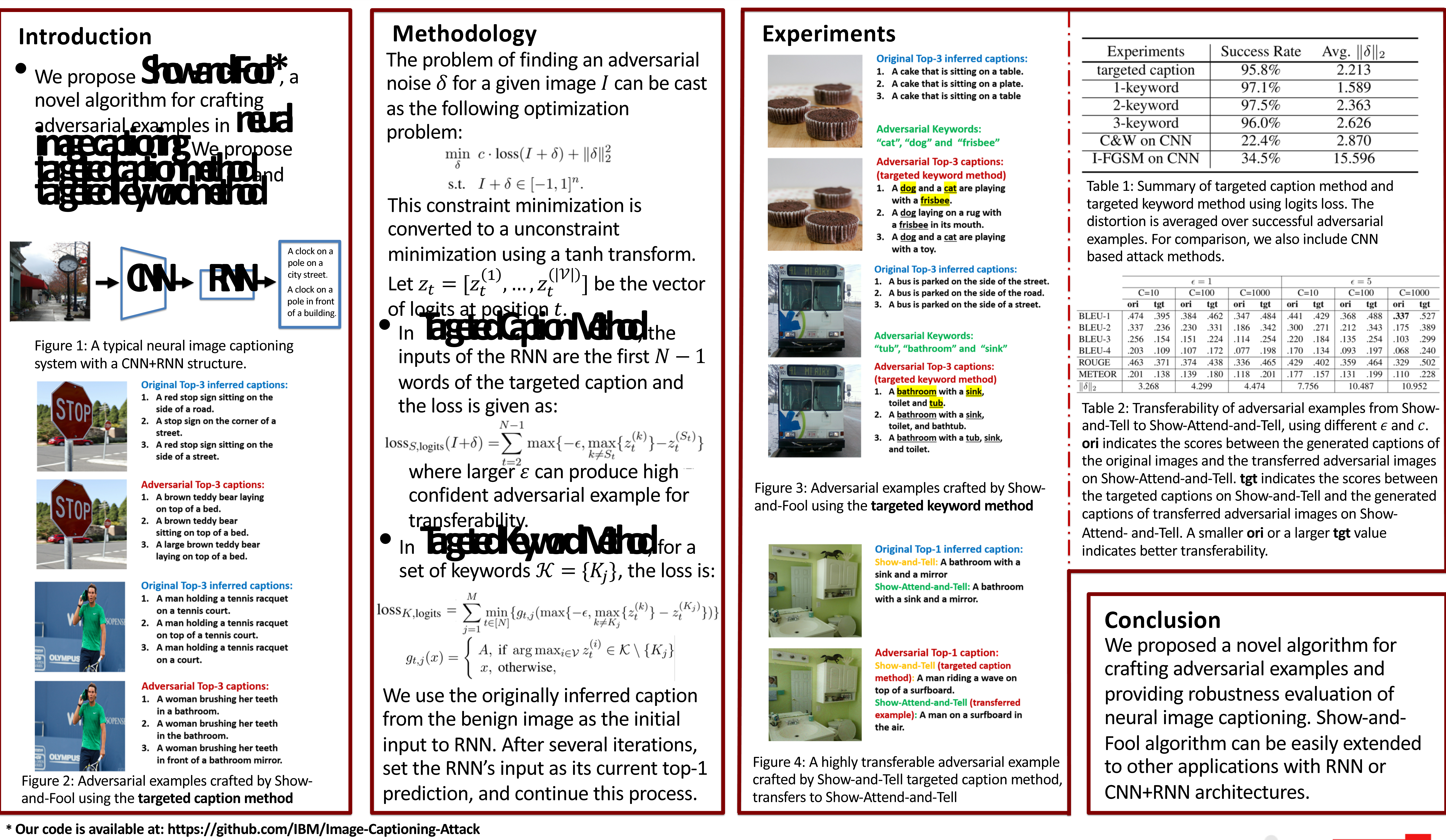 Figure 1 for Attacking Visual Language Grounding with Adversarial Examples: A Case Study on Neural Image Captioning