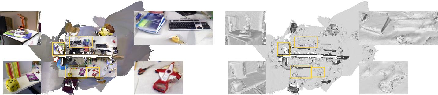 Figure 1 for SurfelMeshing: Online Surfel-Based Mesh Reconstruction