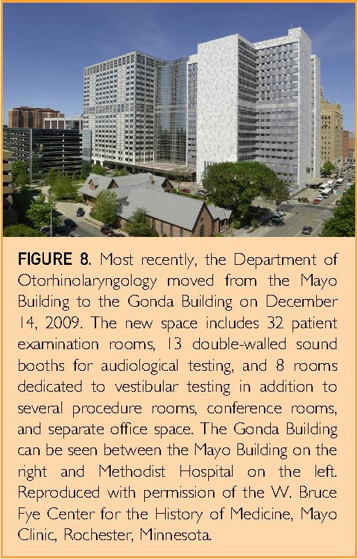 Figure 8 from The History of Otorhinolaryngology at Mayo Clinic