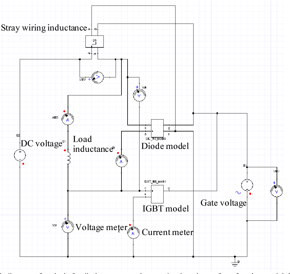 Power Device Waveform Function Model For Circuit Simulation Schematicinductionmeterlmeterpng Described With Vhdl Ams Semantic Scholar