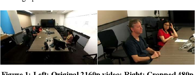 Figure 1 for Multimodal active speaker detection and virtual cinematography for video conferencing