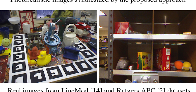 Figure 1 for Photorealistic Image Synthesis for Object Instance Detection