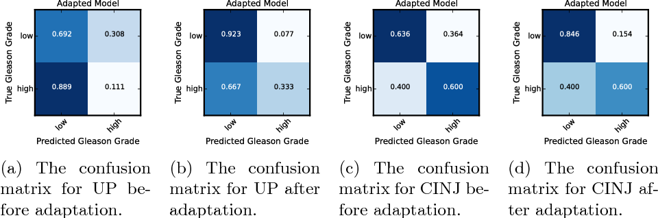 Figure 4 for Adversarial Domain Adaptation for Classification of Prostate Histopathology Whole-Slide Images