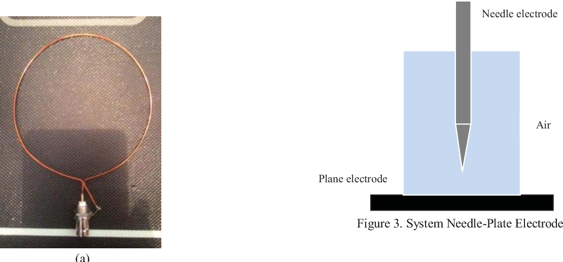 Figure 3. System Needle-Plate Electrode