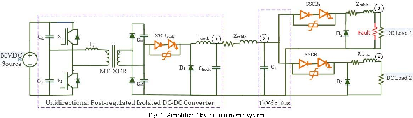 short circuit protection for low voltage dc microgrids based on rh semanticscholar org Adams Solid State Circuit Breaker Electronic Trip Circuit Breaker