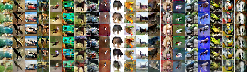 Figure 4 for Manifold regularization with GANs for semi-supervised learning