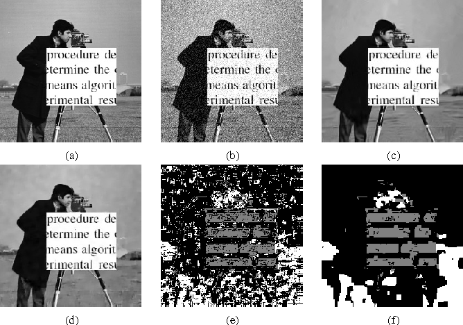 Figure 2 for Image Restoration with Locally Selected Class-Adapted Models
