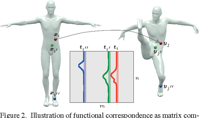 Figure 2 for Functional correspondence by matrix completion