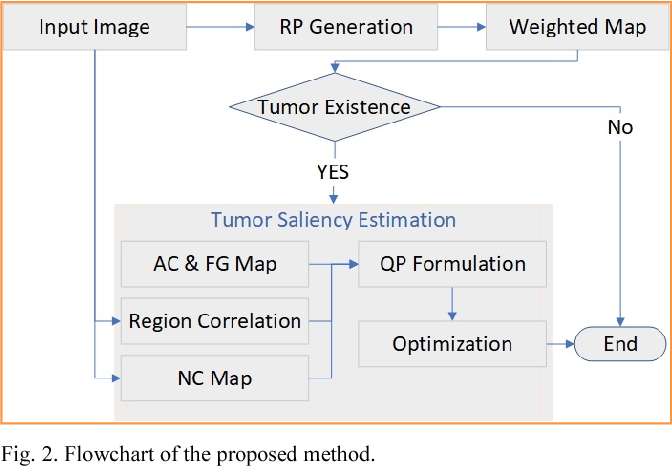 Figure 3 for A Hybrid Framework for Tumor Saliency Estimation