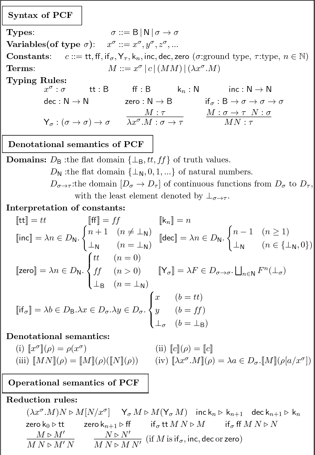 A Stream Calculus of Bottomed Sequences for Real Number