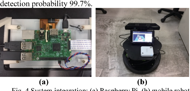 Deep learning for object identification in ROS-based mobile robots