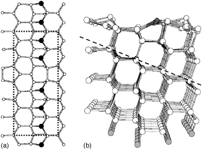 Figure 1 From Ga Induced Atom Wire Formation And Passivation Of