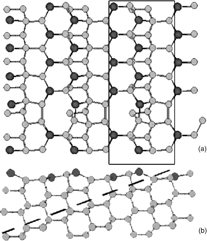 Figure 6 From Ga Induced Atom Wire Formation And Passivation Of