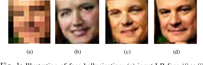 Figure 1 for SiGAN: Siamese Generative Adversarial Network for Identity-Preserving Face Hallucination