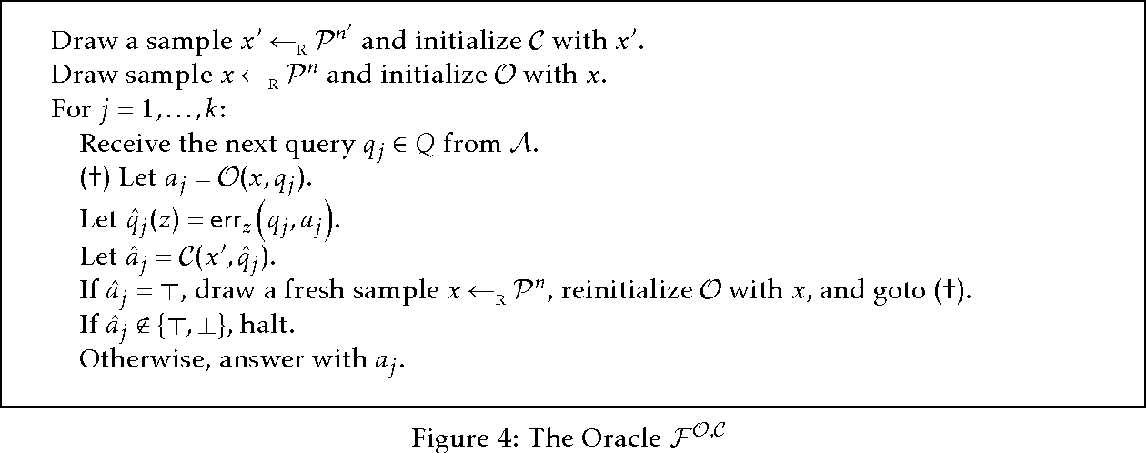 Figure 2 for More General Queries and Less Generalization Error in Adaptive Data Analysis