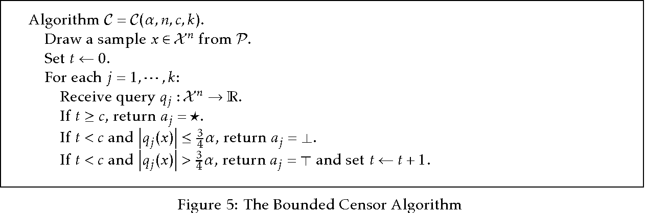 Figure 3 for More General Queries and Less Generalization Error in Adaptive Data Analysis