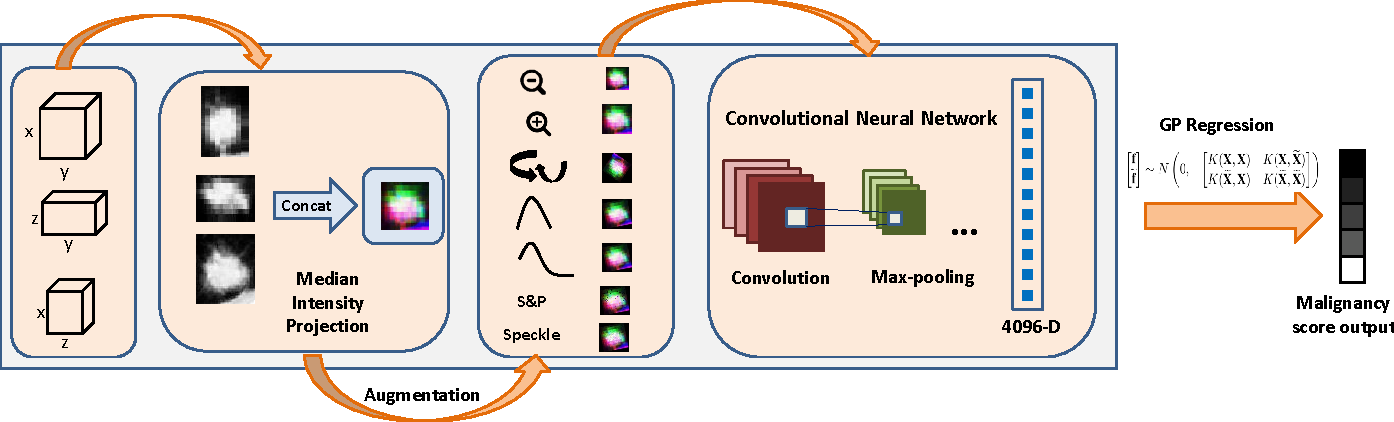 Figure 1 for TumorNet: Lung Nodule Characterization Using Multi-View Convolutional Neural Network with Gaussian Process