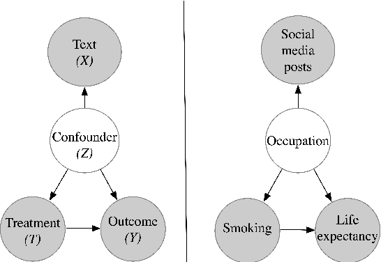 Figure 1 for Text and Causal Inference: A Review of Using Text to Remove Confounding from Causal Estimates