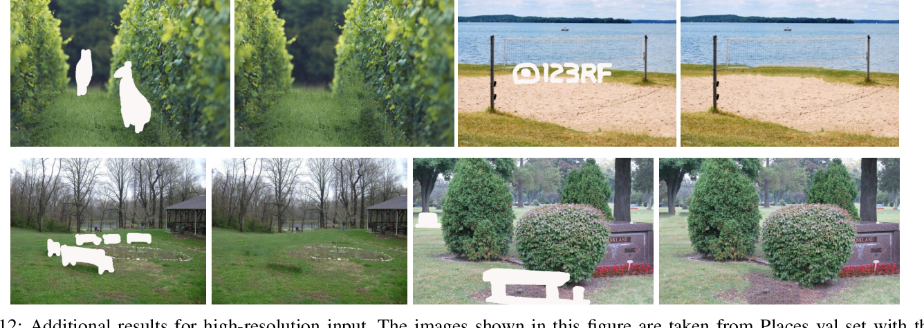 Figure 3 for Texture Memory-Augmented Deep Patch-Based Image Inpainting
