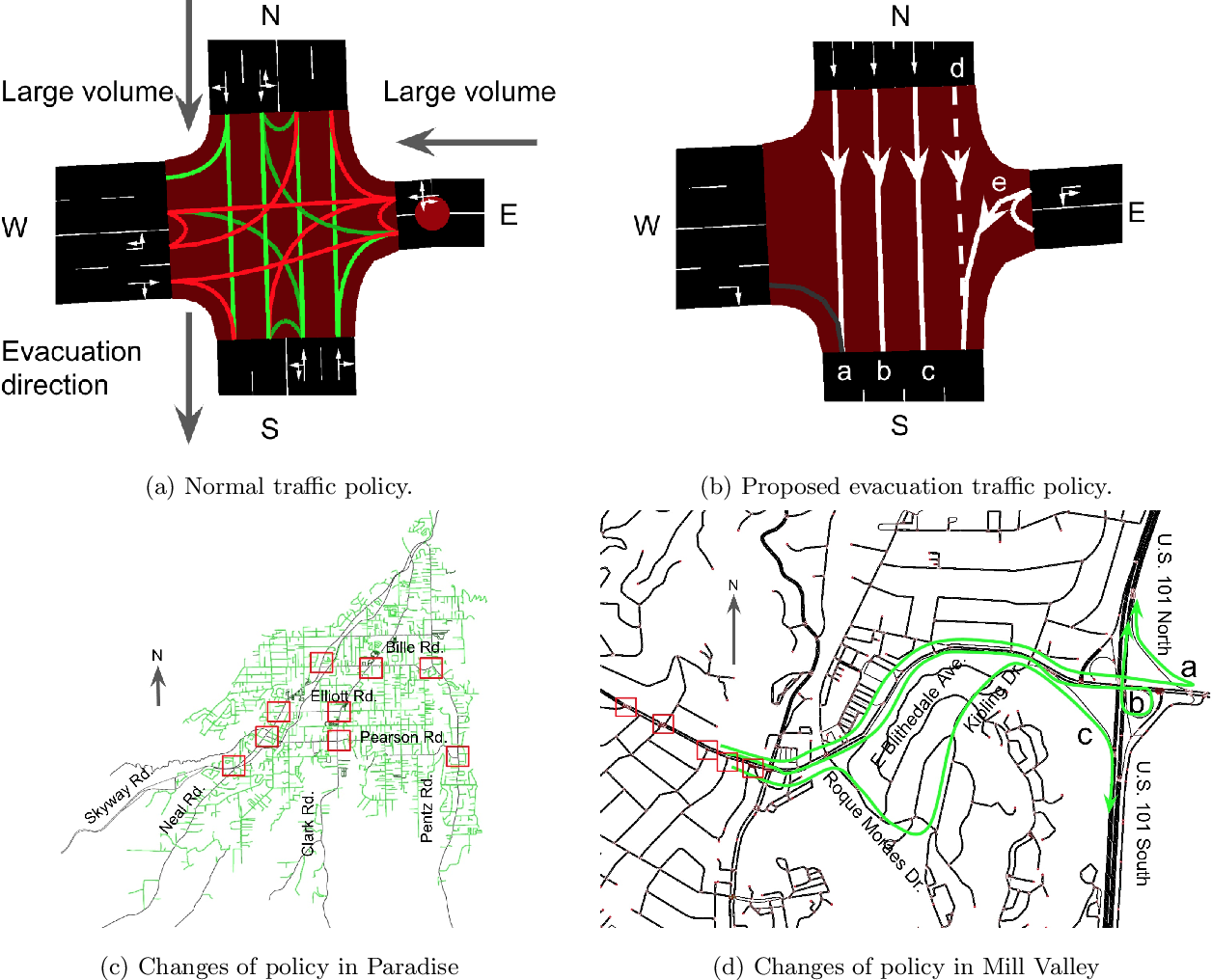 Figure 4 for Simulation Pipeline for Traffic Evacuation in Urban Areas and Emergency Traffic Management Policy Improvements