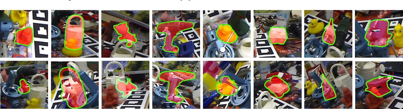 Figure 4 for 3D Point-to-Keypoint Voting Network for 6D Pose Estimation