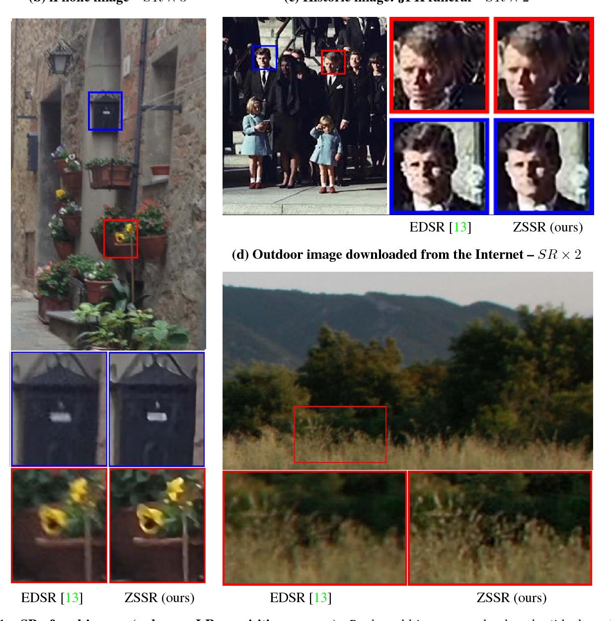 "Figure 1 for ""Zero-Shot"" Super-Resolution using Deep Internal Learning"