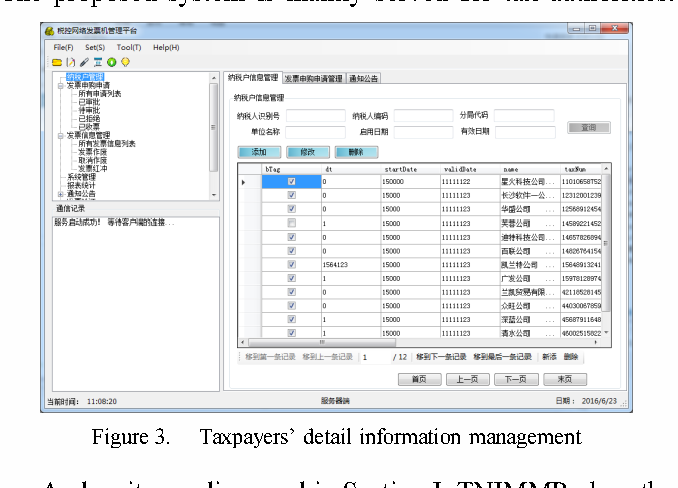 Taxcontrol Network Invoice Machine Management Platform Based On - Invoice machine