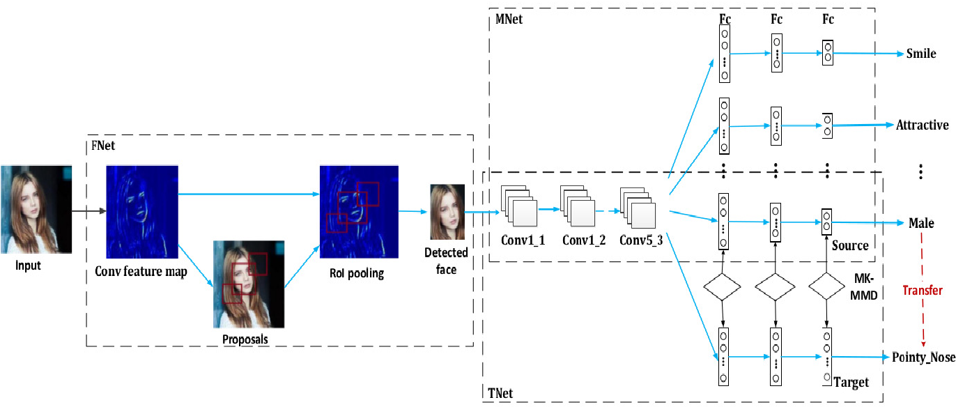 Figure 3 for Multi-label Learning Based Deep Transfer Neural Network for Facial Attribute Classification